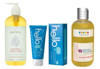 Essential baby care products
