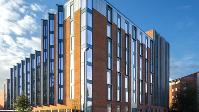 A Sound Solution from SE Controls for The Recording Rooms Student Accommodation