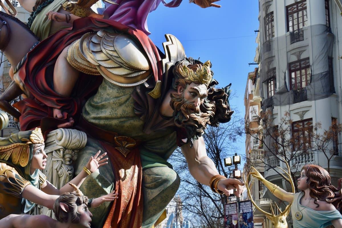 mythical fallas ninot