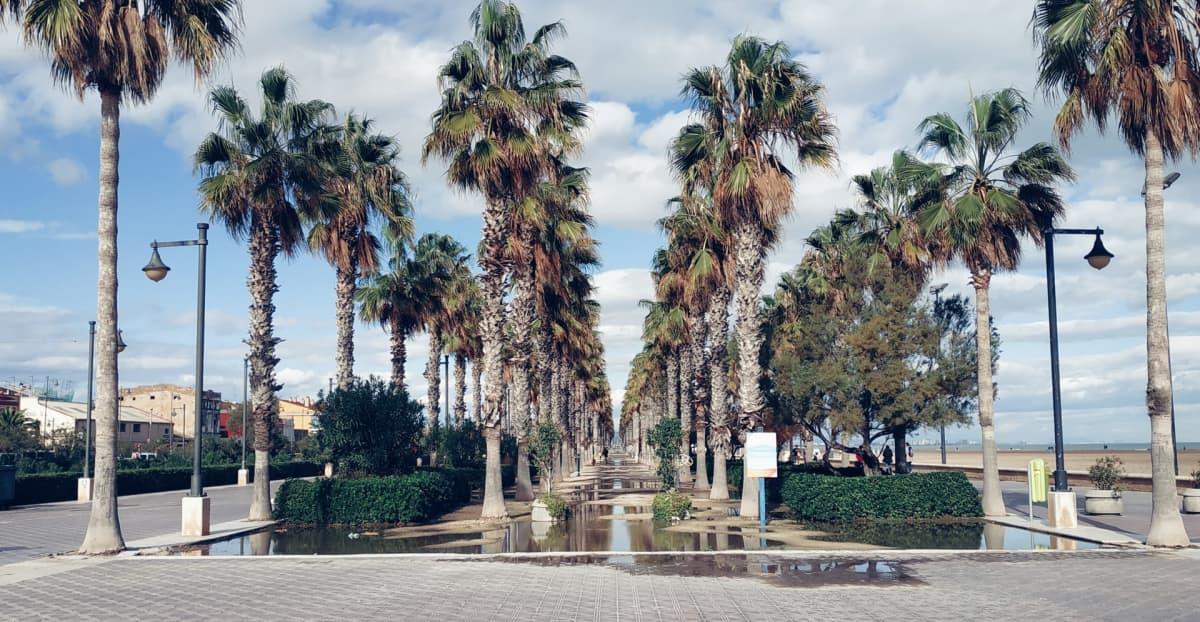 Patacona Beach Promenade