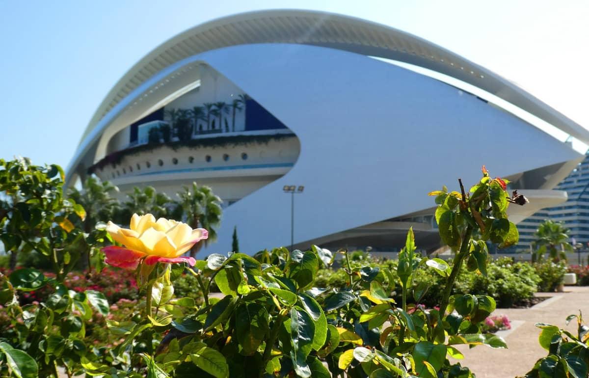 Opera House in the Turia Gardens