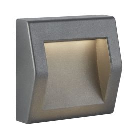 Die Cast Aluminium Ip54 Outdoor Large Led Dark Grey Wall Lights