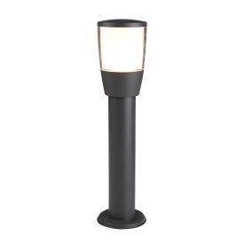 Dark Grey Aluminium Tucson Outdoor 1 Post Light, Polycarbonate