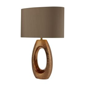 Artisan 1lt Bronze Oval Base Table Lamp