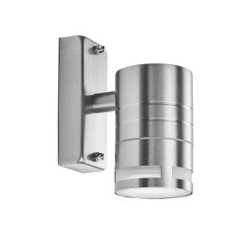 Led Outdoor & Porch (gu10 Led) - 1 Light Wall Bracket, Stainless Steel