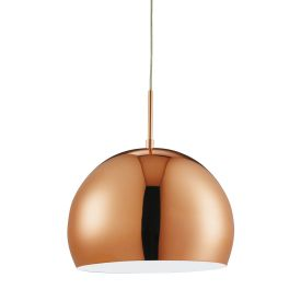 Domas Copper Ball (30cm Dia) Pendant Light