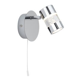 Bubbles Ip44 Chrome Led Wall Spotlight/acrylic Bubbles. Bathroom Use.