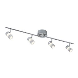 Bubbles Ip44 Chrome 4 Led Adjustable Bar Spotlight. Bathroom Use.