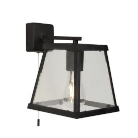 Voyager  1lt Wall Light - Bk