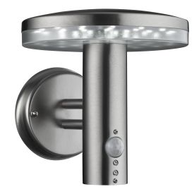 Stainless Steel Ip44 30 Led Outdoor Wall Light With Motion Sensor