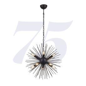 Sputnik 10lt Pendant - Black
