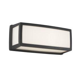 Aluminium Outdoor Led Oblong, Dark Grey, Opal, Polycarbonate Diffuser Wb/flush