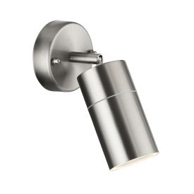 Led Stainless Steel Ip44 Outdoor Directional Wall Light
