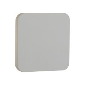 4w Led White Plaster Wall Light