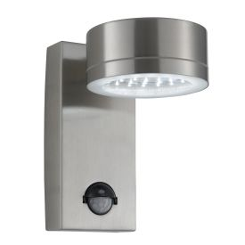 Stainless Steel Ip44 36 Led Outdoor Wall Light With Motion Sensor