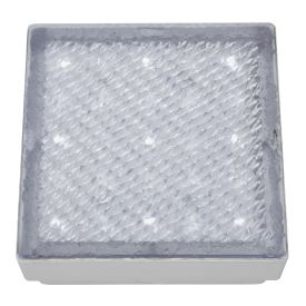 Ip68 29 Led Recessed Square Walkover With White Led Light