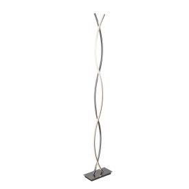 Platt - Led Floor Lamp, Chrome