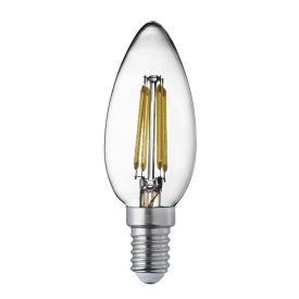 Led Filament Bulbs E14 - 4w, Warm White (pack Of 10)