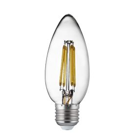 Led Filament Bulbs E27 - 4w, Warm White (pack Of 10)