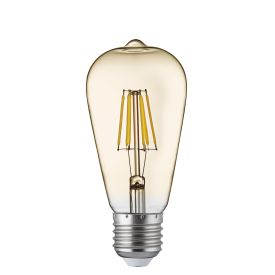 Led Filament Bulbs E27 - 6w, Warm White (pack Of 5)