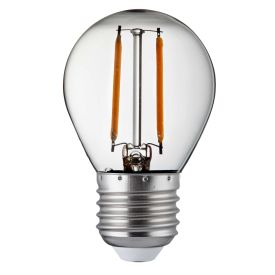 Pack X 10 - Dimmable E27 Led Filament Golf Ball Lamp - 4.5w, 400lm, Warm White 2
