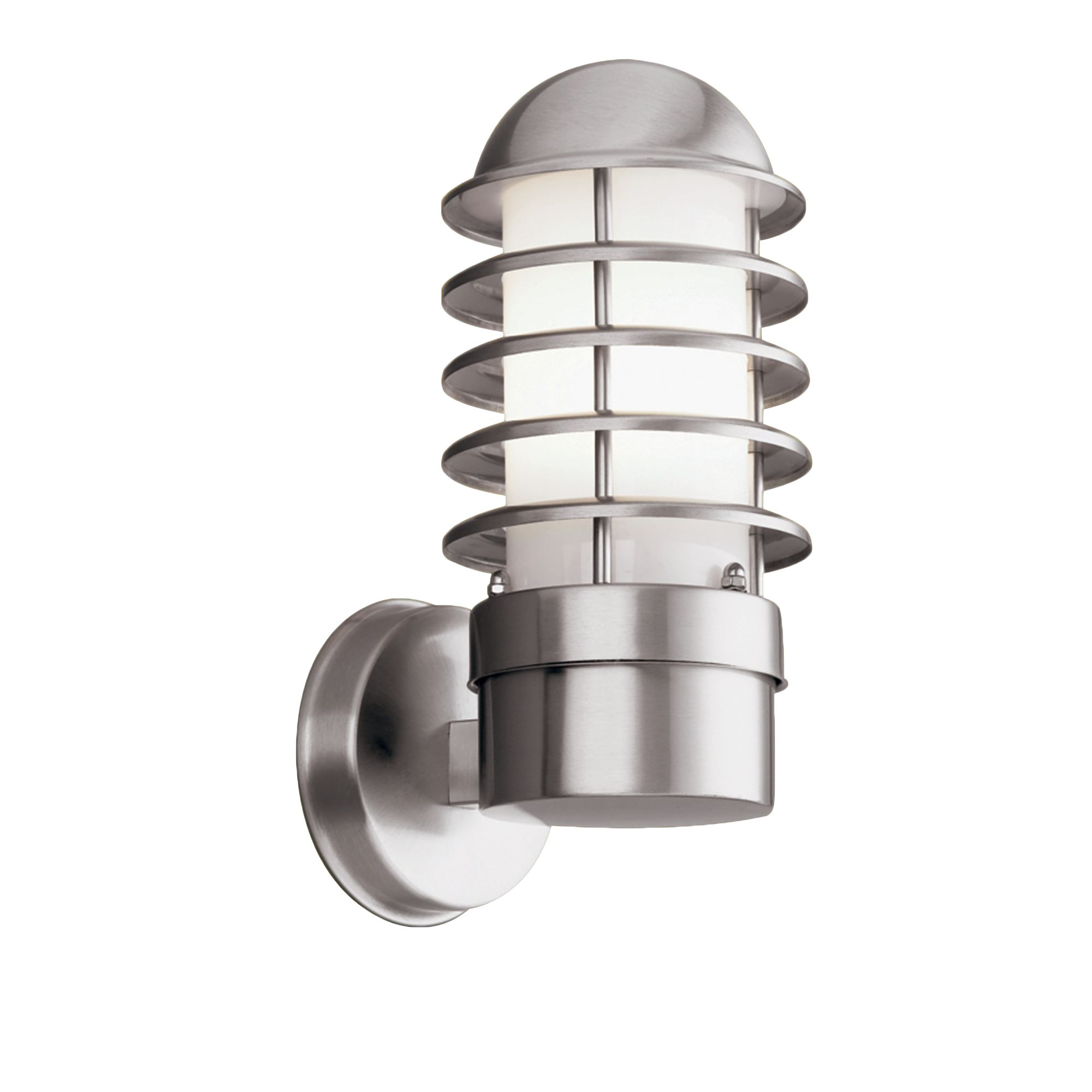 Stainless Steel Ip44 Outdoor Light With Polycarbonate Diffuser