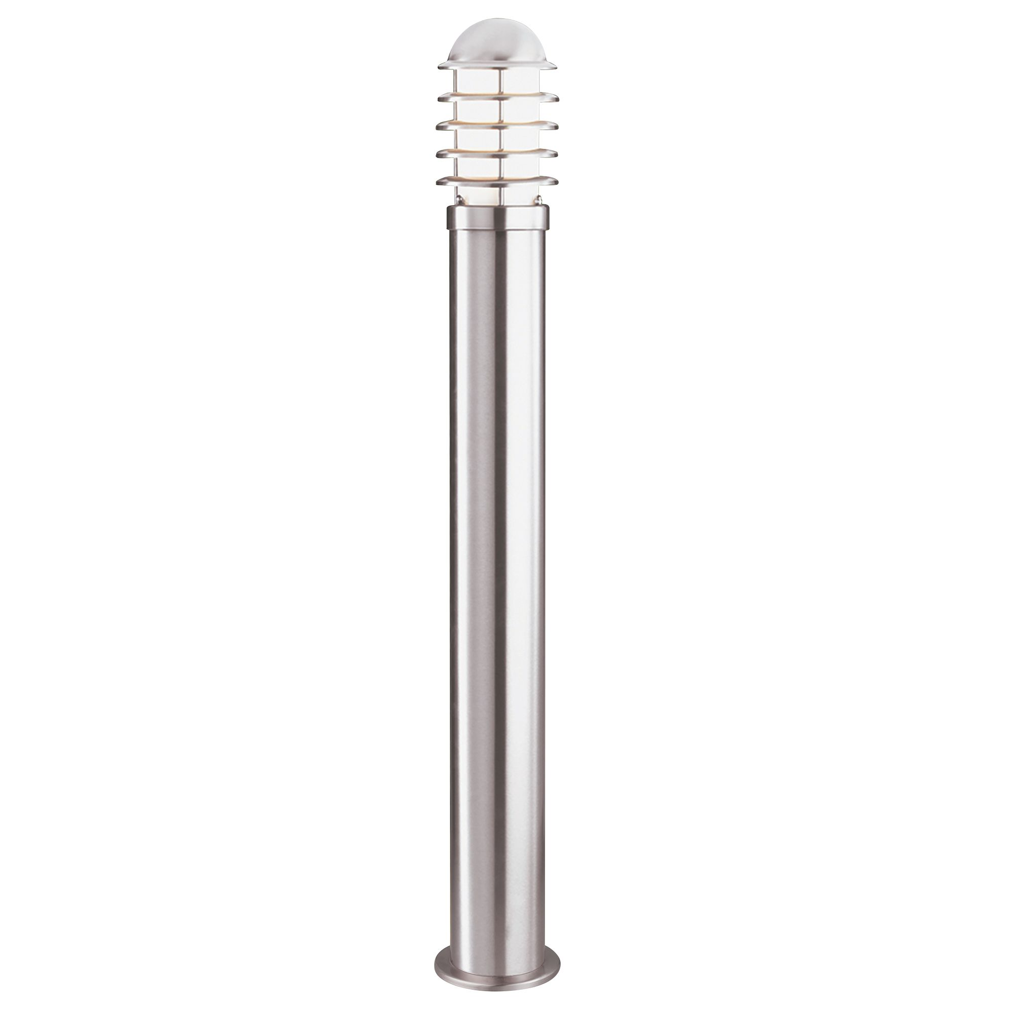 Stainless Steel Ip44 Outdoor Bollard Light With Polycarbonate Diffuser