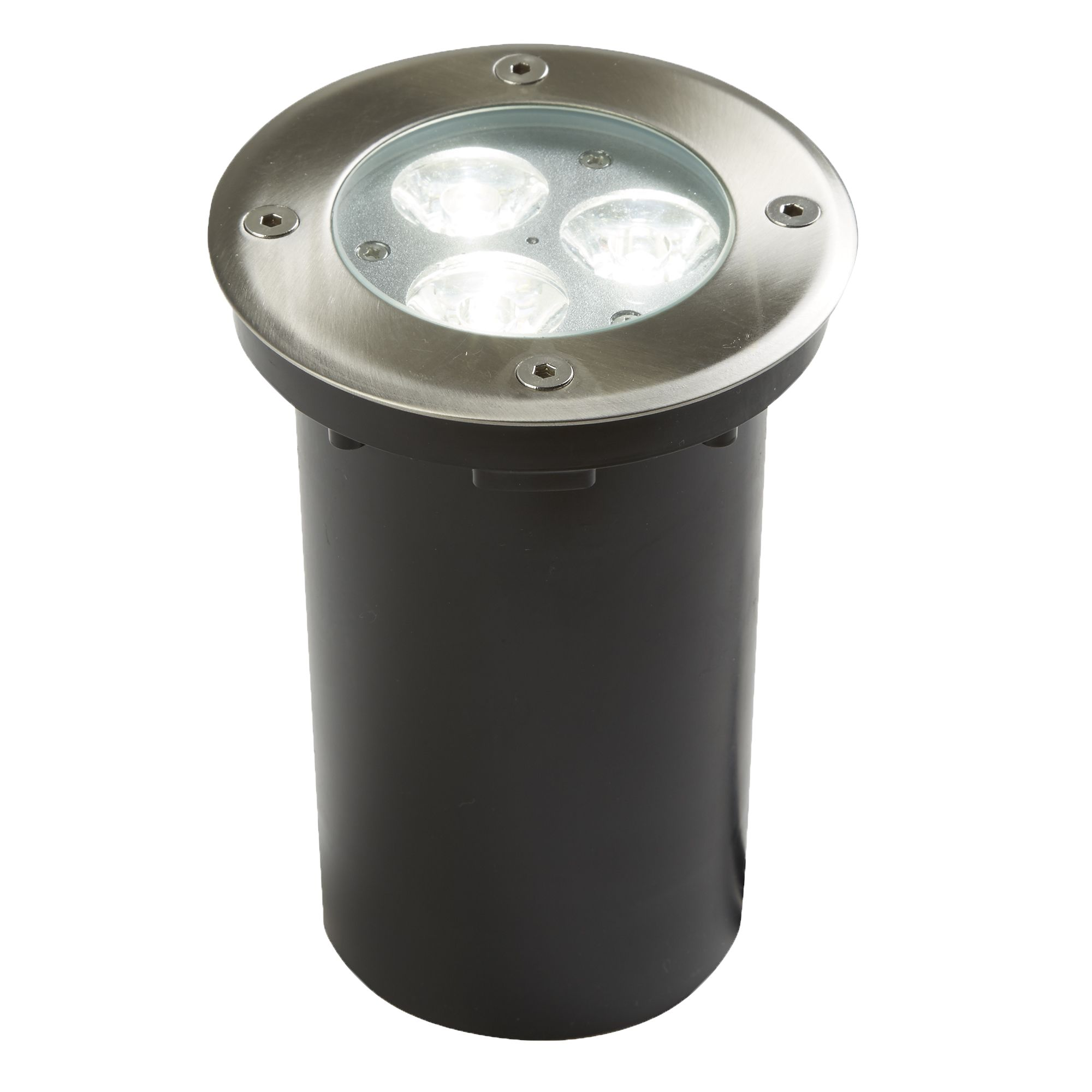 Stainless Steel Ip67 3 Led Outdoor Pathway Walkover Glass Light