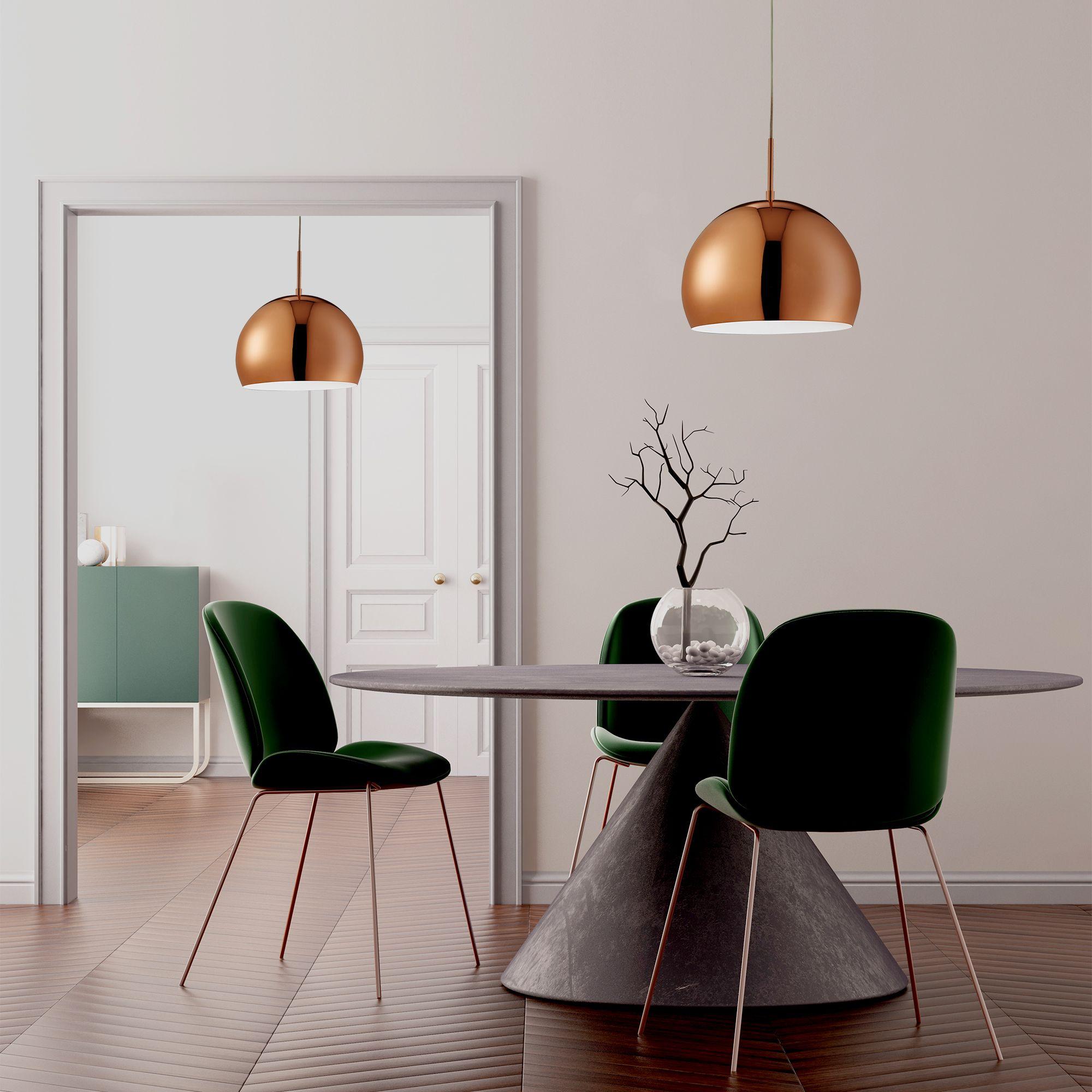 Domas Copper Ball 40cm Dia Large Pendant Light