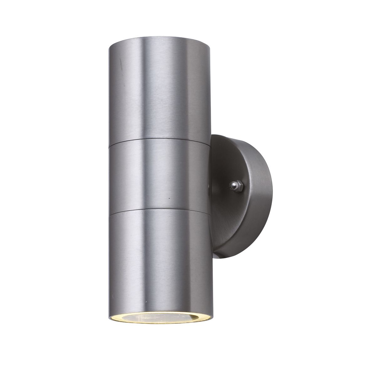 Led Stainless Steel Ip44 2 Light Outdoor Tube Wall Bracket