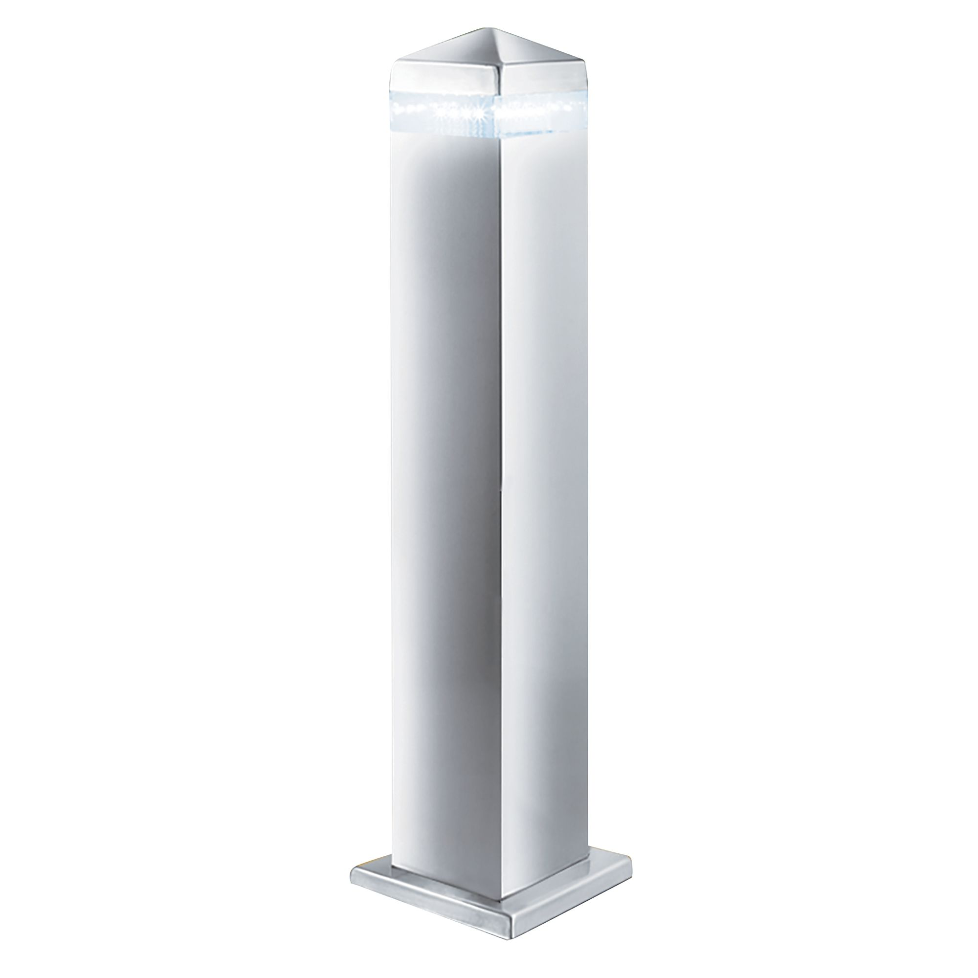Stainless Steel Ip44 Led Outdoor Post Light With Clear Diffuser
