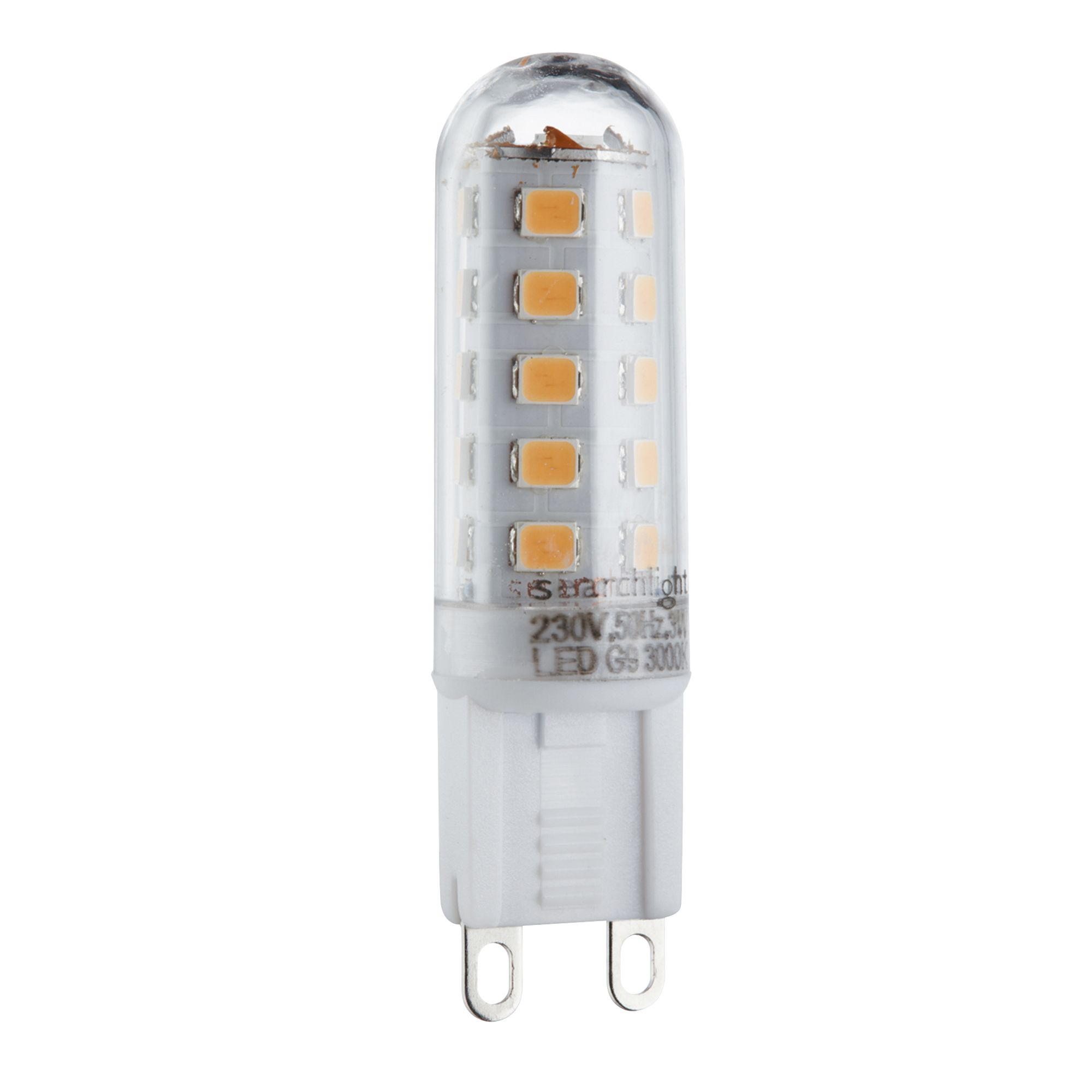 G9 Led Bulb - 3w, 300 Lumens, Warm White