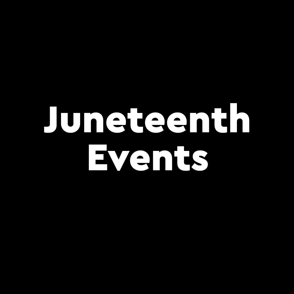Image representing Juneteenth Events