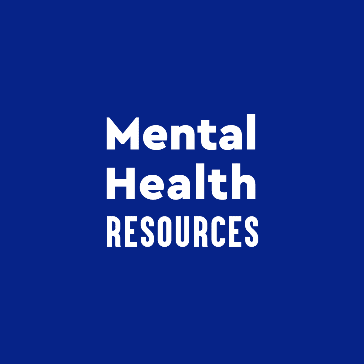 Image representing Mental Health Resources