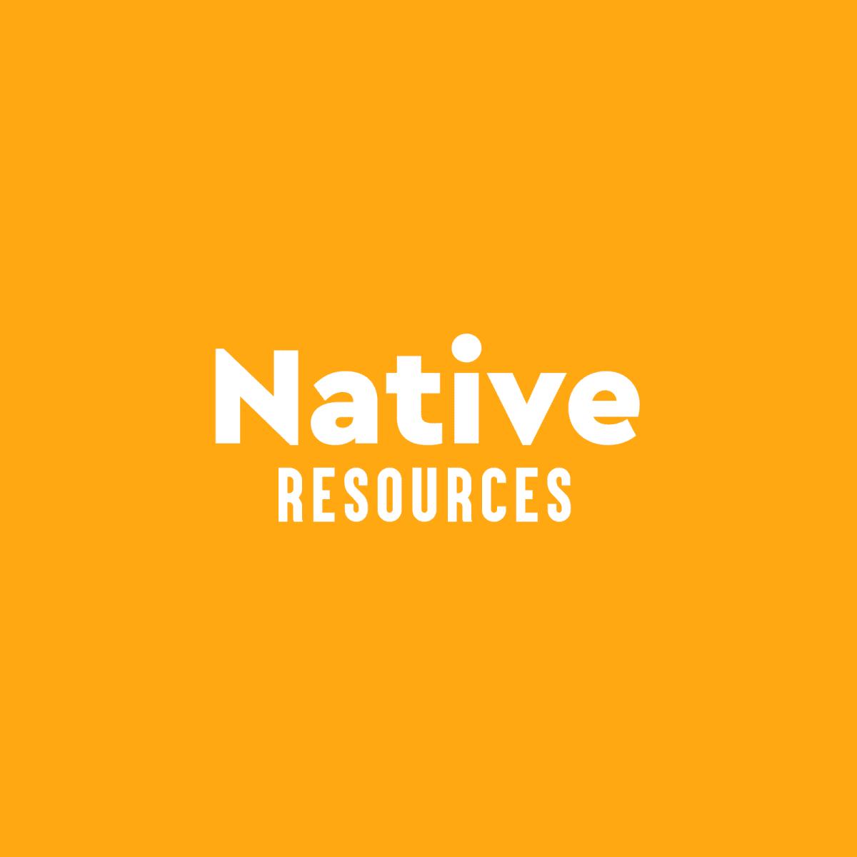 Image representing Native Resources