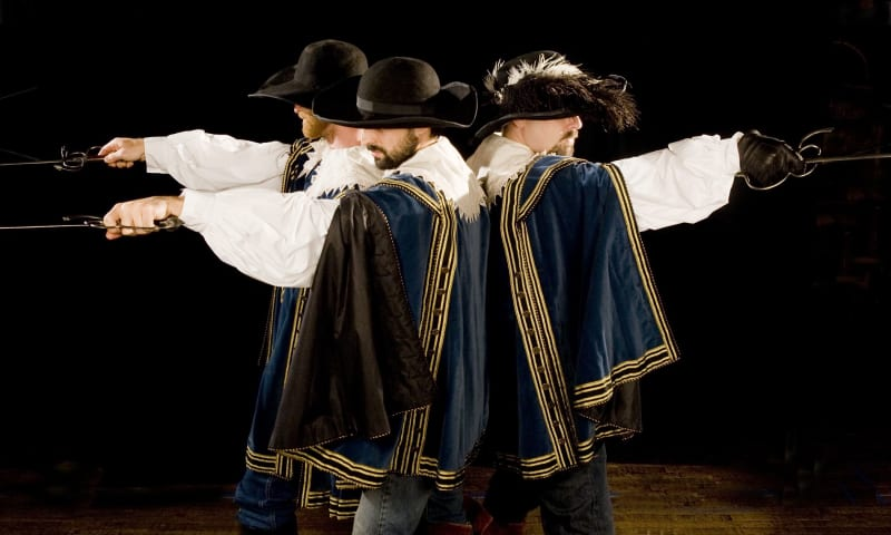 Artwork for The Three Musketeers