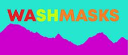 WASHMASKS logo ldiovf