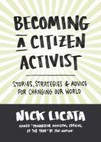 becoming a citzen activist e8coth