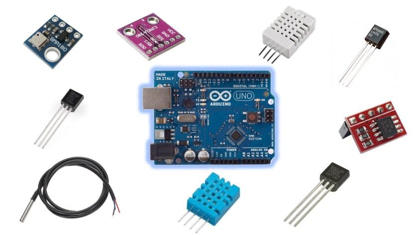 8 Sensori di temperatura per Arduino per i vostri impianti di sorveglianza