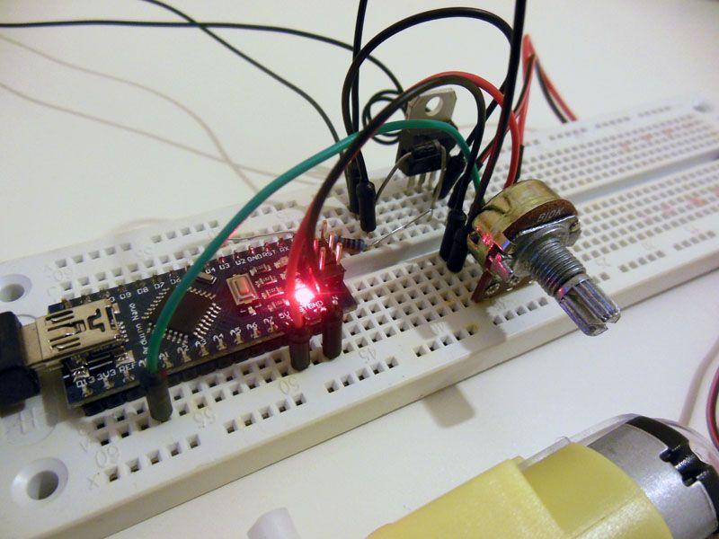 Pilotare un motore elettrico usando Arduino