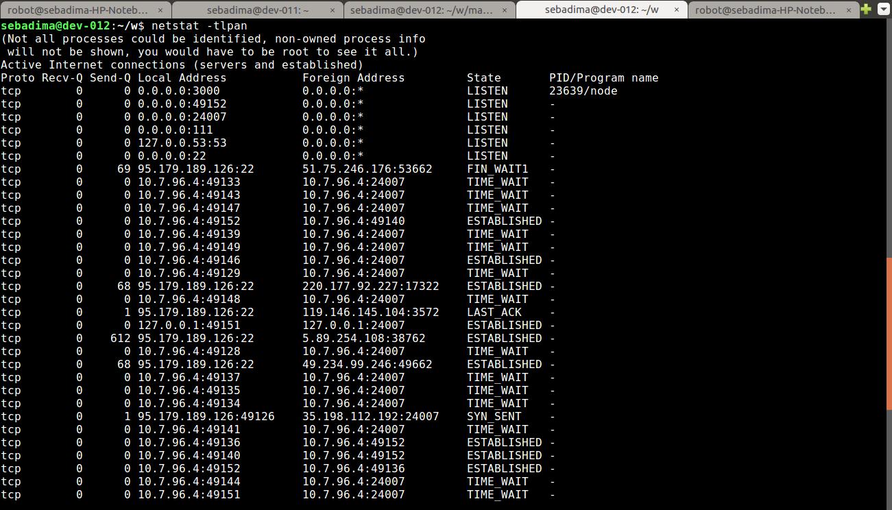 Come usare fuser e netstat su Linux/Ubuntu