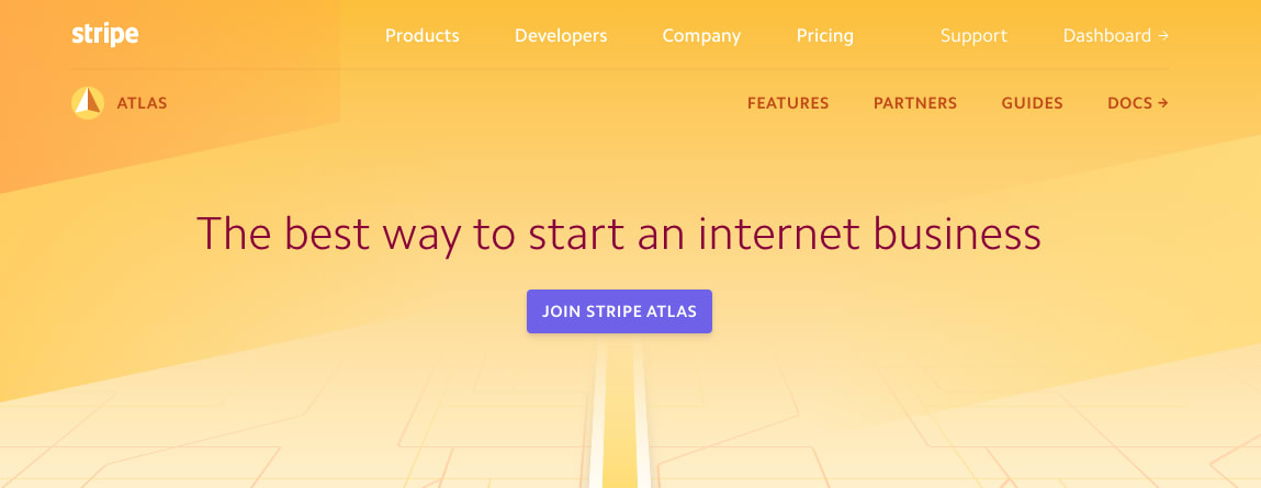 Turn your idea into a startup Stripe Atlas is a powerful, safe, and easy-to-use platform for forming a company. By removing lengthy paperwork, bank visits, legal complexity, and numerous fees, Stripe Atlas helps you launch your startup from anywhere in the world.