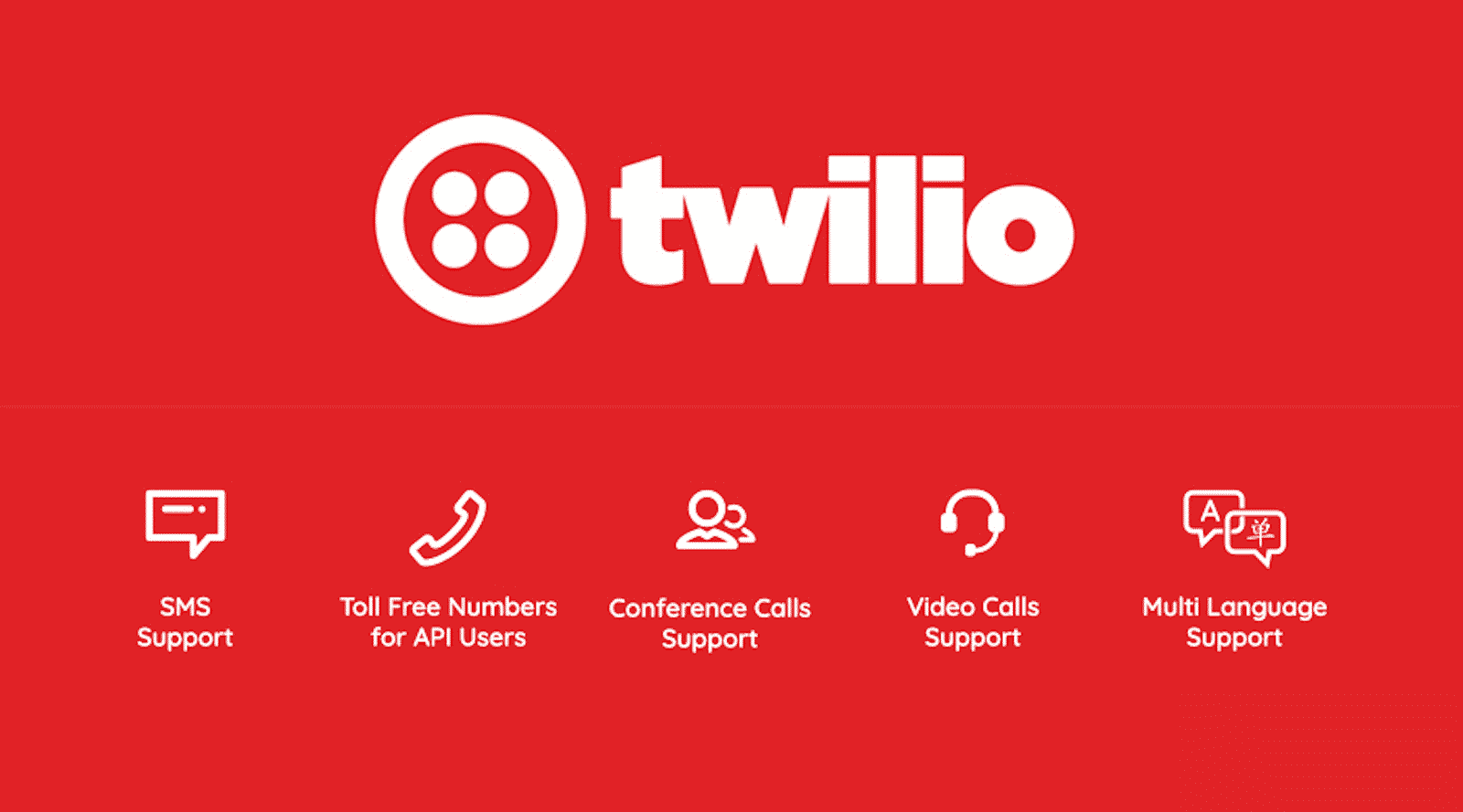 Twilio has democratized communications channels like voice, text, chat, and video by virtualizing the world's telecommunications infrastructure through APIs that are simple enough for any developer to use, yet robust enough to power the world's most demanding applications. More than 2 million developers around the world have used Twilio to unlock the magic of communications to improve any human experience. By making communications a part of every software developer's toolkit, Twilio is enabling innovators across every industry — from emerging leaders to the world's largest organizations — to reinvent how companies engage with their customers.