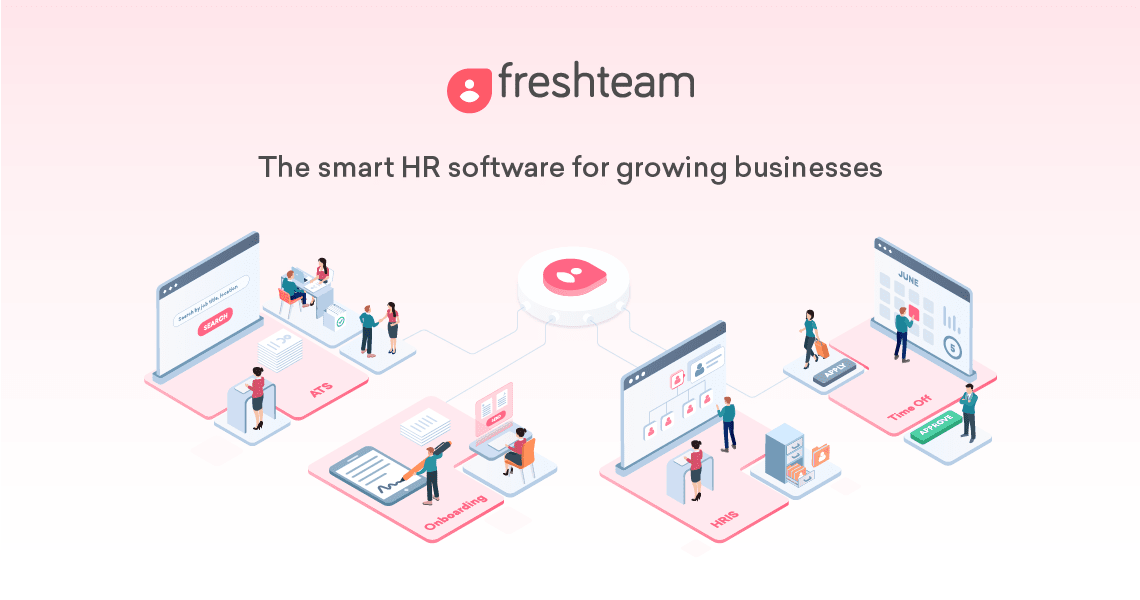 Freshteam is an intuitive, easy-to-use, affordable HR software by Freshworks that helps you recruit, onboard & manage employee information while also covering your time off management & offboarding workflows. It enables you to attract top talent through multiple channels such as a career site, job boards, social media channels, emails etc., interview & hire superstars, onboard them. HR can also create an employee directory, make organizational charts & handle employee time off.