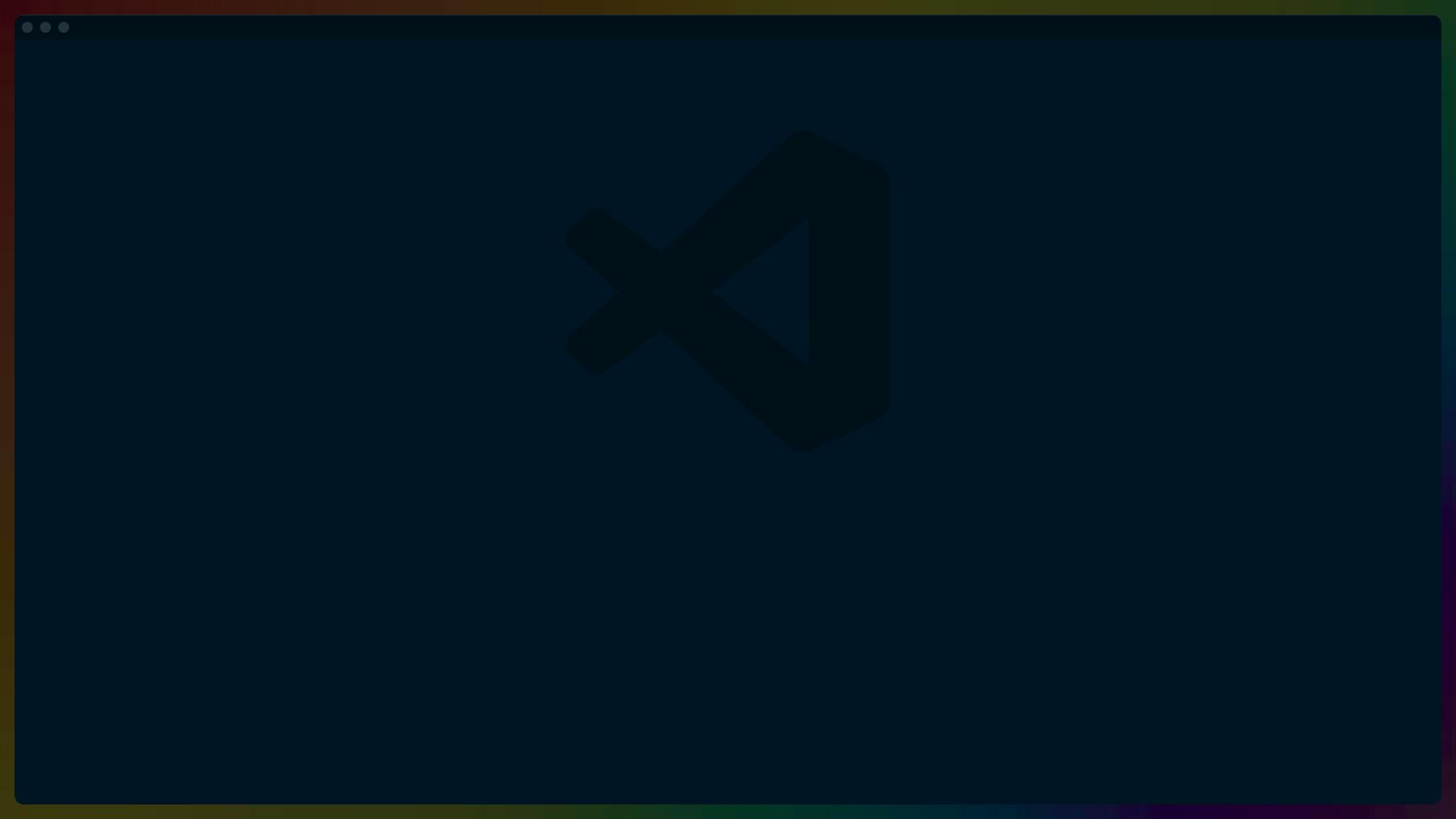 VSCode fullscreen
