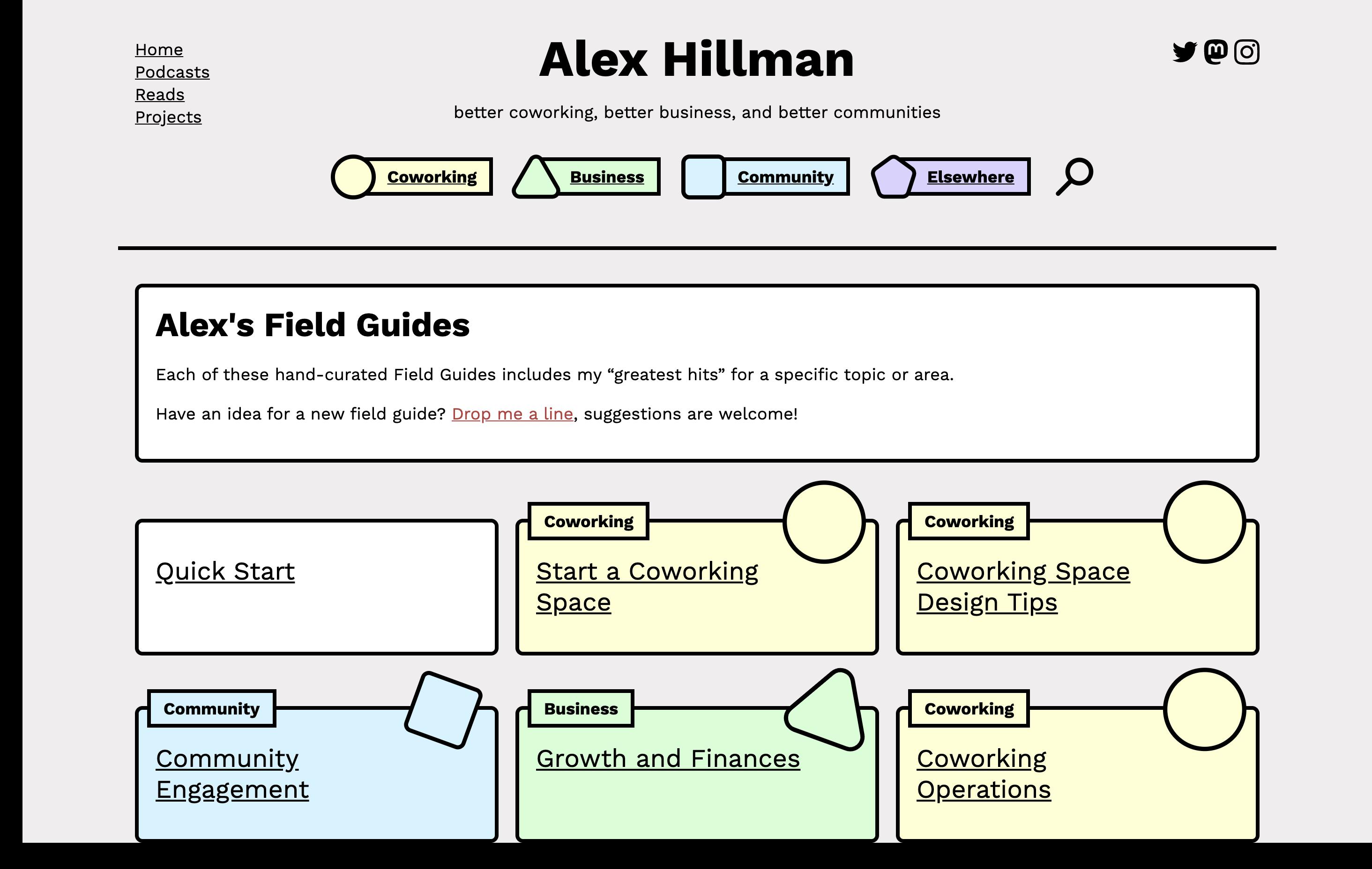 alex hillman field guides