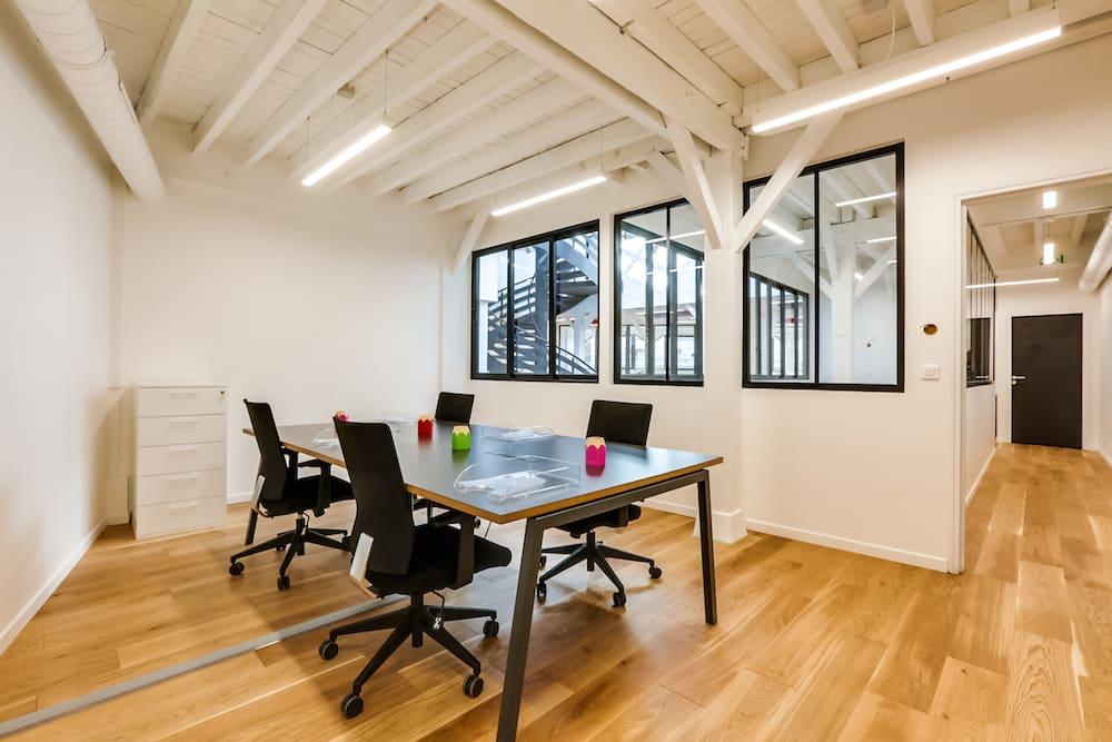 Des espaces de travail aménagés