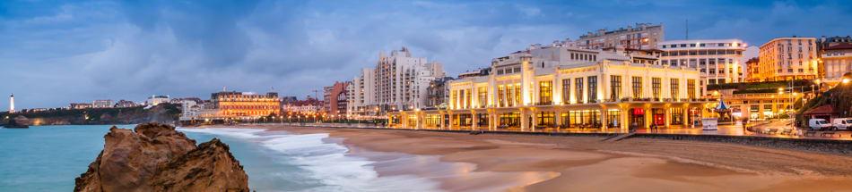 Domiciliez votre entreprise en plein coeur de la ville de Biarritz.