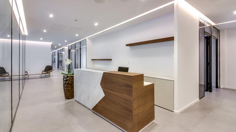 Un centre d'affaires équipé et moderne.