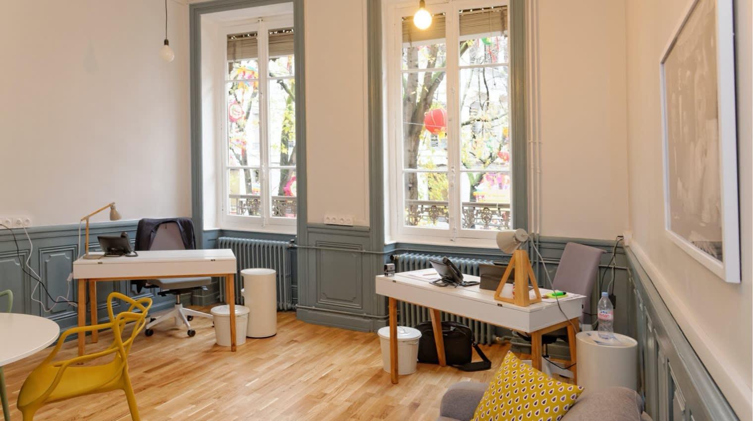Des salles de réunion modernes pour accueillir vos futurs clients et partenaires.